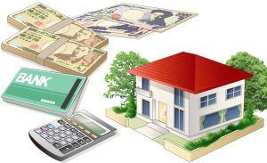 お金と家の画像